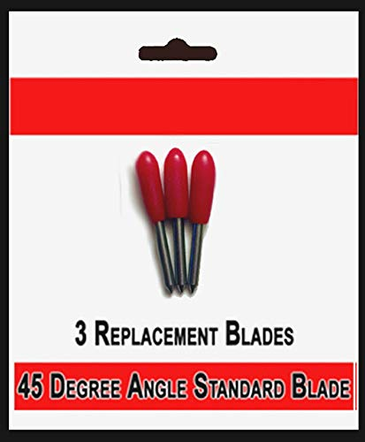 - Bridge Cutters 3 Pack Blades - Replacement Fine Point Standard Cutting Blade 45 Degree Angle Type Compatible Cricut Air Explore Expression Mini Creation Cutting Scrapbook Craft Machines