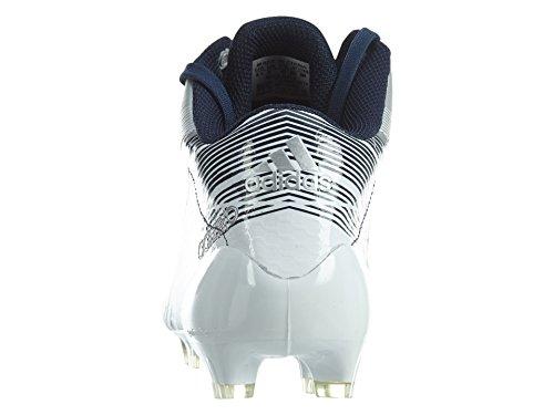 Adidas Adizero 5-sterrenhotel 2,0 Mid Mens Platina / Navy Blauw / Wit