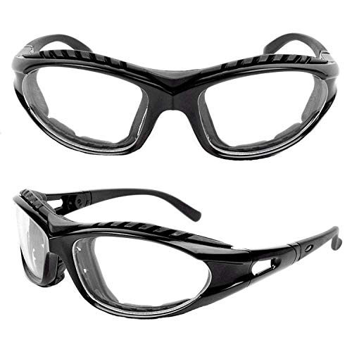 TROOPS BBQ Grilling Goggles, Black