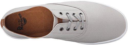 Dr. Martens - Zapatos de cordones de Lona para hombre Gris Grey / Tan Canvas