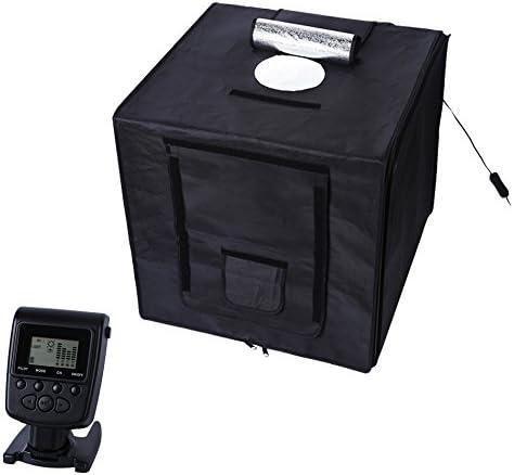 Polaroid Studio Box - Caja fotográfica portátil con panel LED y control remoto.: Amazon.es: Electrónica