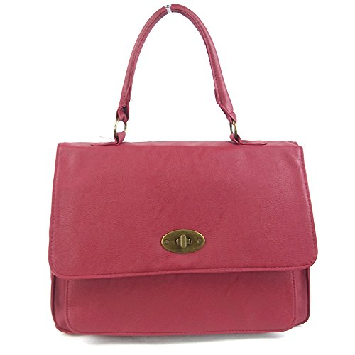 Rose Leatherette Woman Portfolio Style London Xardi Bag nHqwYXyWtt