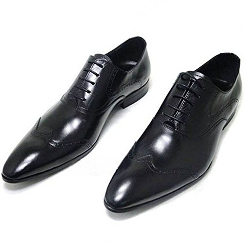 fulinken genuine leather oxford shoes lace up slip on