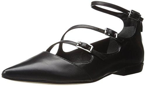 Sigerson Morrison Mujeres Pulie Flat Black