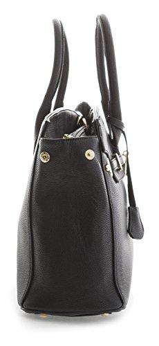 Femmes Mode à épaule 38x31x16 Élégant cm Fourre Sac LxHxP Noir BHBS noir main tout qEwgdaqY