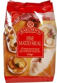 Rakusen's Fine Matzo Meal - 375g Kosher Jewish Food, Kosher