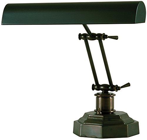House of Troy P14-203-81 12-1/2-Inch Portable Desk/Piano Lamp Mahogany Bronze