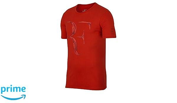 d08829a9c Amazon.com: NIKE 913466-634: RF Tee Mens Habanero Red T-Shirt (XL): Sports  & Outdoors