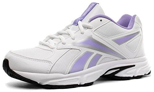 Running Purple Runner Schuhe Weiß Junior Damen White RS Tranz Reebok w61xqTnzxX