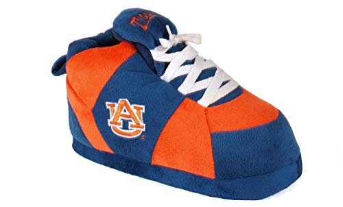 AUB01-5 - Auburn Tigers - XX Large - Happy Feet Men's and Womens NCAA Slippers