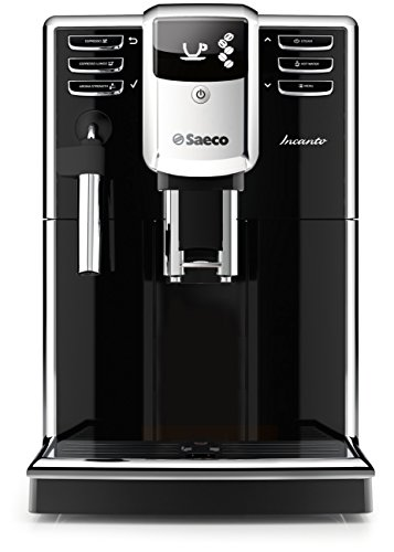 Saeco HD8911/48 Incanto Frother Espresso Machine with Aquaclean Classic, (Saeco Black Coffee Maker)
