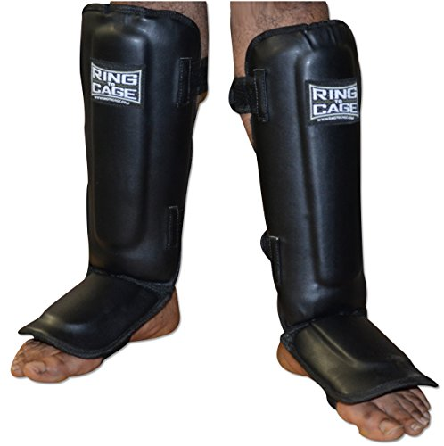 Muay Thai Pro-Style Shin instep for Muay Thai, MMA, Kickboxing, stand up