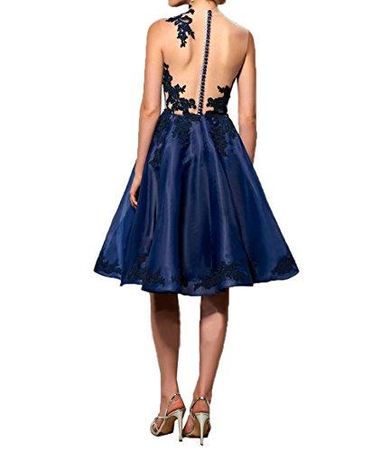 Festlichkleider Damen A Promkleider Rock Linie Knielang Cocktailkleider Ballkleider 2018 Neu Braun Abendkleider Charmant AO0fdqw0
