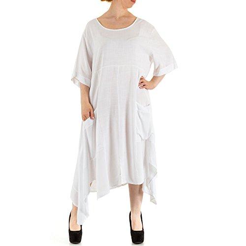 Ital-Design - Vestido - para mujer blanco