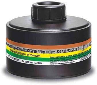 respirator mask filter