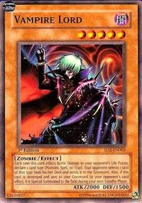 (Yu-Gi-Oh! - Vampire Lord (SD2-EN003) - Structure Deck 2: Zombie Madness - 1st Edition - Common)
