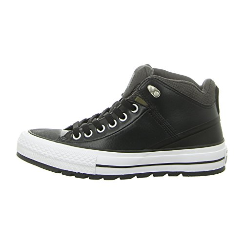 Converse Mens Boots - Converse Unisex Chuck Taylor All Star Street Boot, Black/Storm Wind, 5.5