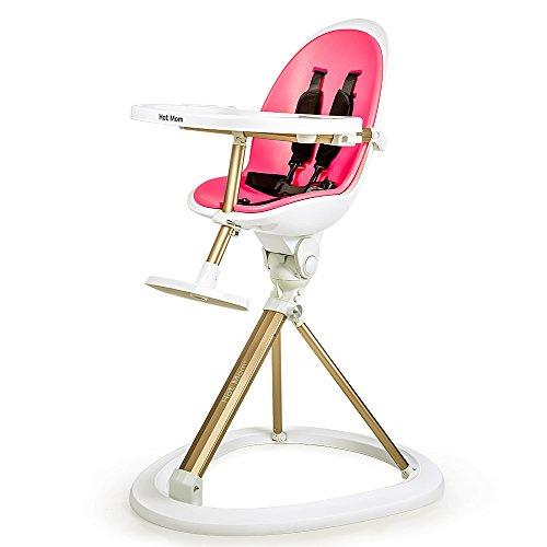 amazoncom hot mom modern swivel 360 highchair white baby - Modern High Chair