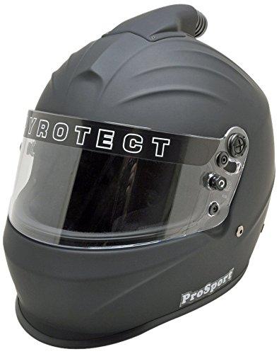 Pyrotect 8024005 Helmet Flat Blk LargeTop Air Pro Sport SA2015