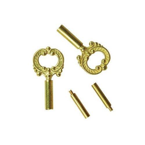 Jandorf Socket Keys 1/2 In., 6/36 In. 2 Brs Finish
