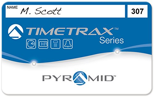 Pyramid Timetraxtm Swipe Cards50/Pk151-200 41306 by Pyramid