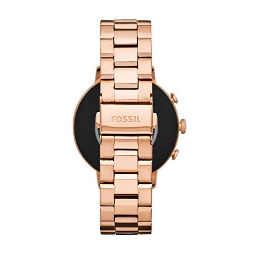 da9d6db52d09 Fossil Women s Gen 4 Venture HR Stainless Steel Touchscreen Smartwatch