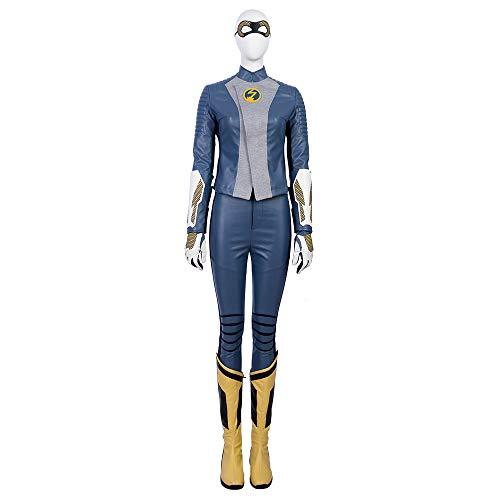 costory The Flash Season 5 Nora Allen Cosplay Costume Full Suit Women Halloween]()