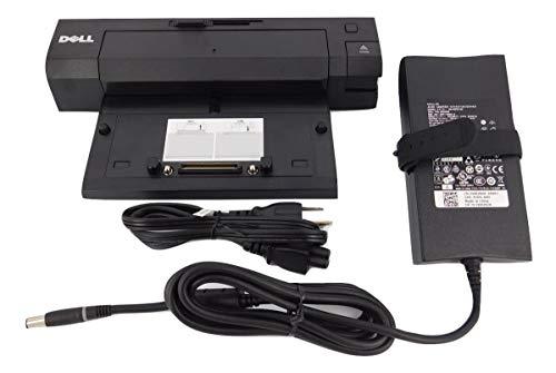 Dell E-Port Plus PR02X Docking Station (Port Replicator) w/ USB 2.0 and PA-4E 130w Power Adapter (Renewed)
