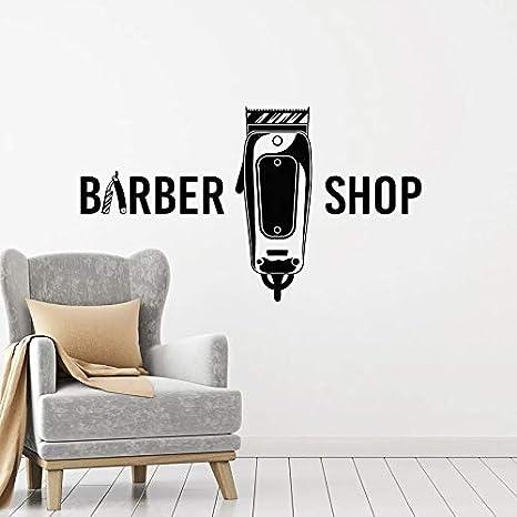 Tianpengyuanshuai Calcomanías de Pared para peluquería ...