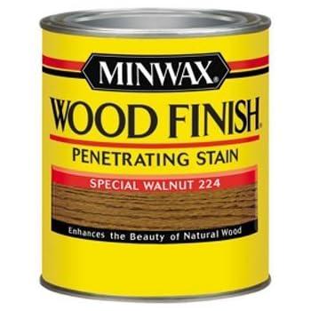 Minwax 70006444 Wood Finish Penetrating  Stain, quart, Special Walnut