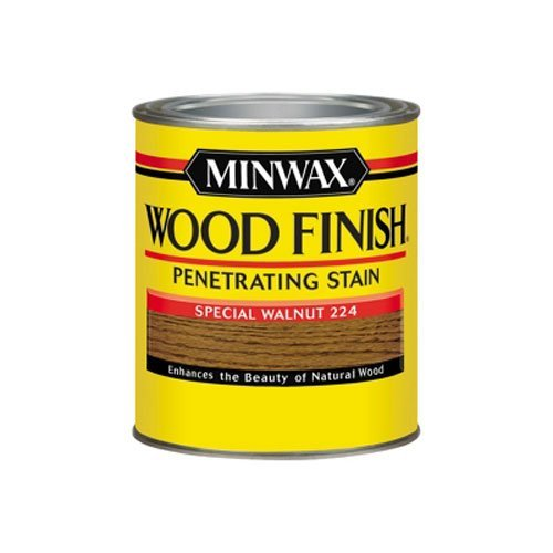 Minwax 70006444 Wood Finish Penetrating  Stain, quart, Special Walnut