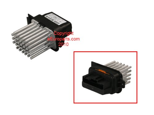 BMW z4 blower regulator Final Stage Unit OEM havc fan speed control resistor
