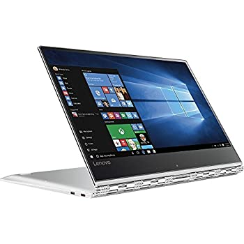 "2017 Lenovo Yoga 910 2-in-1 Laptop: 13.9"" Touchscreen IPS FHD (1920x1080), Intel Core i7-7500U, 256GB SSD, 8GB DDR4, Backlit Keys, Windows 10 - Silver (Certified Refurbished)"
