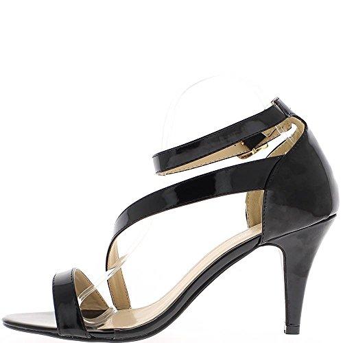 Tolle Sandalen Größe schwarz 9,5 cm Absatz