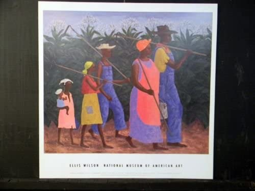 AFRICAN AMERICAN ART PRINT Field Worker by Ellis Wilson