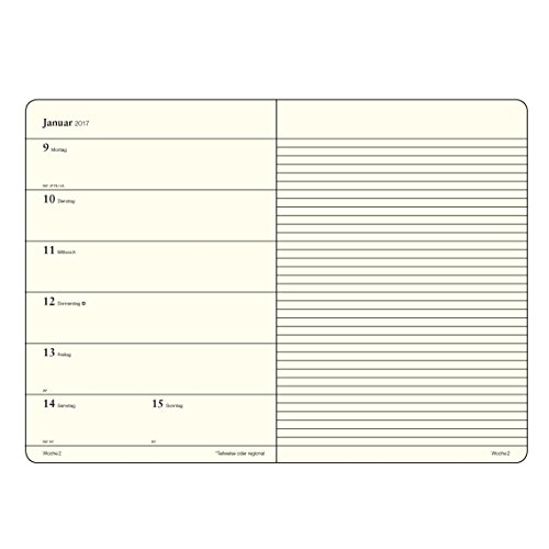 Amazon.com : Leuchtturm 1917 Berry Weekly Planner and ...