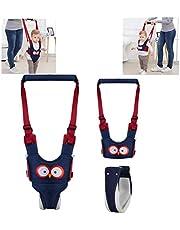 Baby Walking Harness Handheld, Afufu Baby Walker, Safe Stand Hand Held Toddler Leash Assistant Walking Helper, Breathable Safety Walking Harness Walking Belt for Toddler Infant, Adjustable
