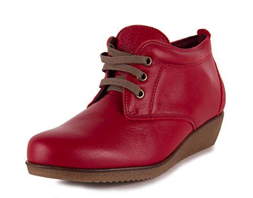 Tekila Zapato Botín Ava Rojo