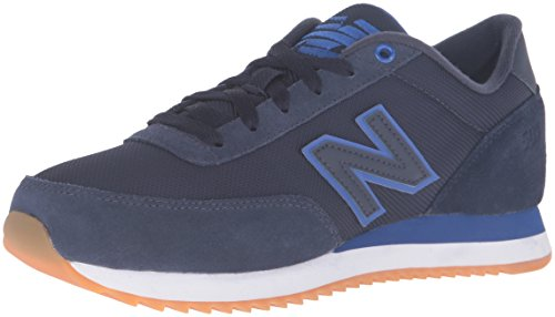New Balance 501 Ripple Sole Navy Mens Trainers Navy