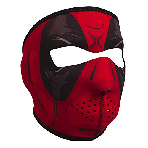 Price comparison product image ZANheadgear Unisex-Adult Full Mask (Neoprene,  Red Dawn) (Red,  One Size)