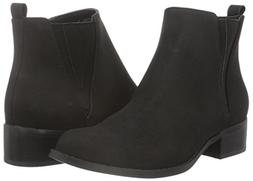 Chelsea Stivali black Boot Donna Deco Bianco 10 48920 27 Nero XxnganqPw