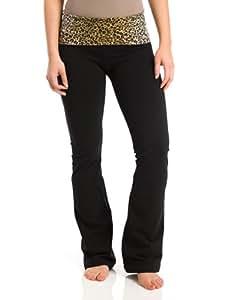 Hard Tail Leopard Roll Down Waist Pants, Desert Tan, Large