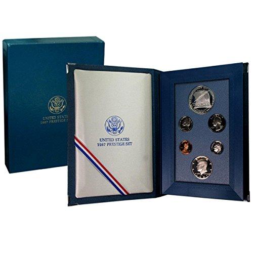 1987 S U.S. Mint Prestige Set in Original Government Packaging (Us Mint Prestige Proof Coin)