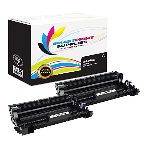 Drum Tandem - Smart Print Supplies Compatible DR820 Drum Unit Replacement for Brother HL-L5000 5100 5200 6200 6250 6300 6400, DCP-L5500 5600 5650, MFC-L5700 5800 5850 5900 6700 6800 Printers (30,000 Pages) - 2 Pack