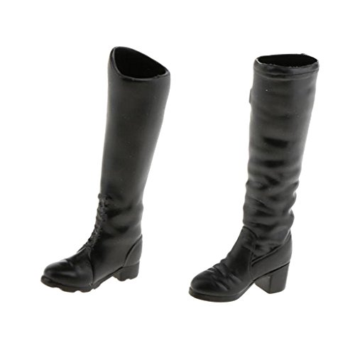 [해외]MonkeyJack 2 쌍 16 여성 긴 부츠 신발 12 인치 액션 피겨 Phicen Kumik / MonkeyJack 2 Pairs 16 Female Long Boots Shoes for 12 inch Action Figure Phicen Kumik