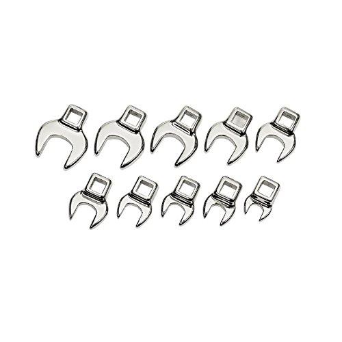 - Craftsman 10 Piece Metric Crowfoot Wrench Set, 9-4363