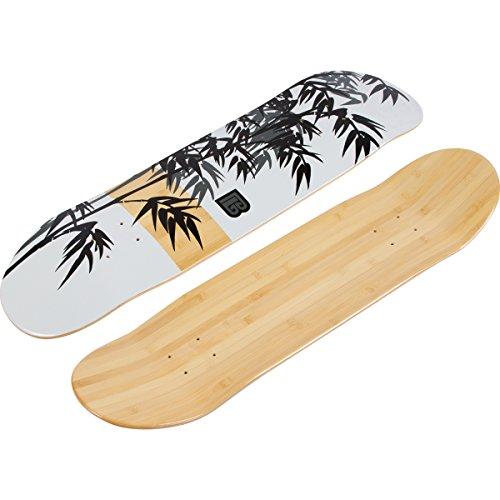 Womens Skateboard Deck - Bamboo Skateboards Graphic Skateboard Deck (7.75, Moso)