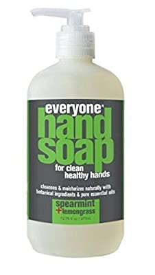 Everyone Spearmint and Lemongrass Hand Soap (Pack of 2) with Vitamin E, Matricaria Flower Extract and Aloe Barbadensis Leaf, 12.75 fl. oz.