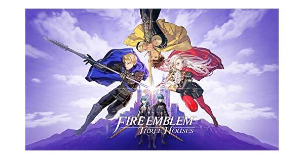 Amazon com: Fire Emblem: Three Houses - Nintendo Switch