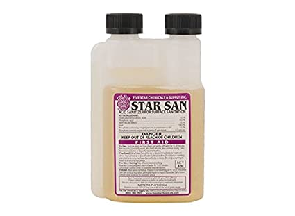 Star Sans Sanitizer 4 oz. Five Star Chemicals FS_SS_4